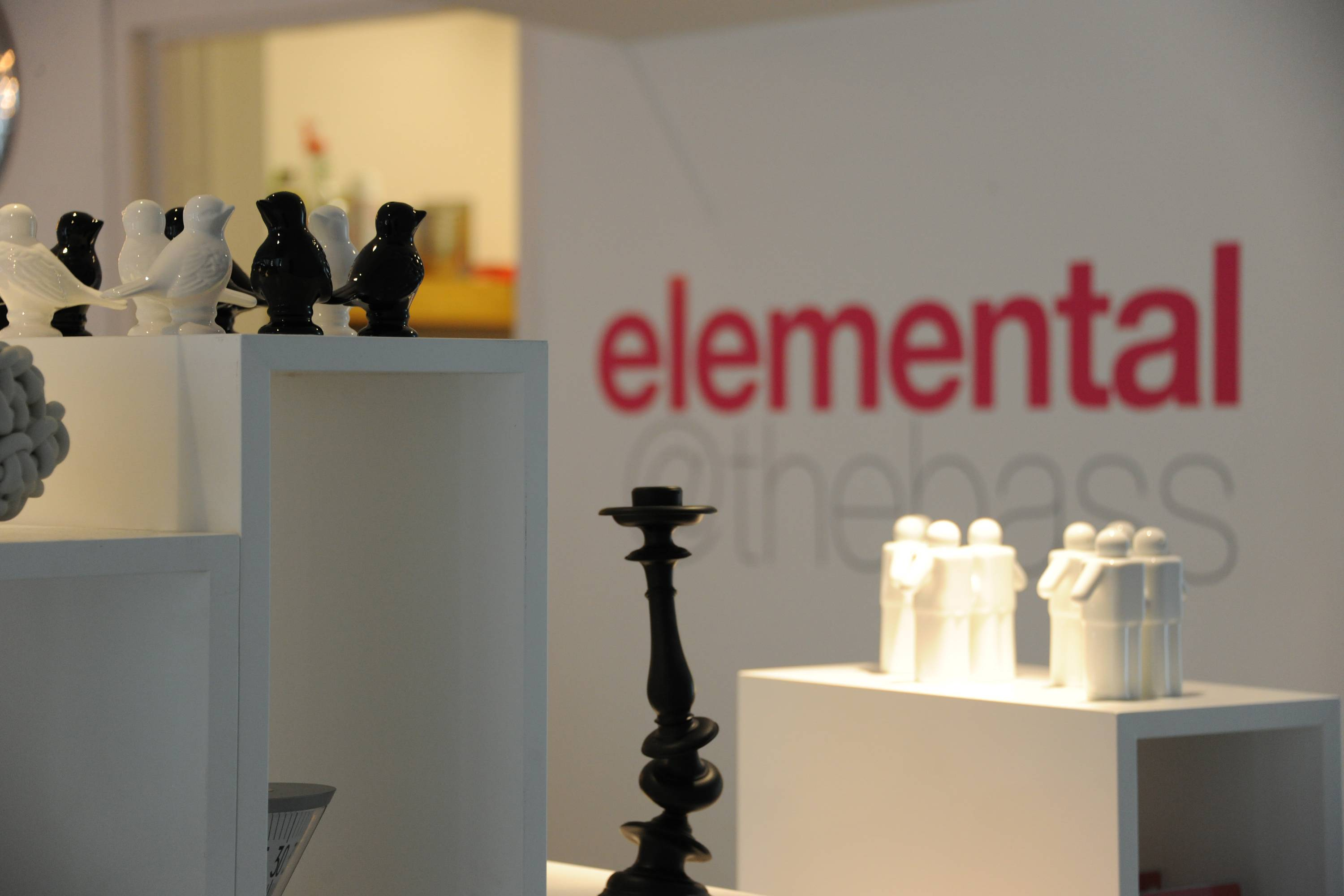 Contemporary Design Store elemental Opens at Bass Museum