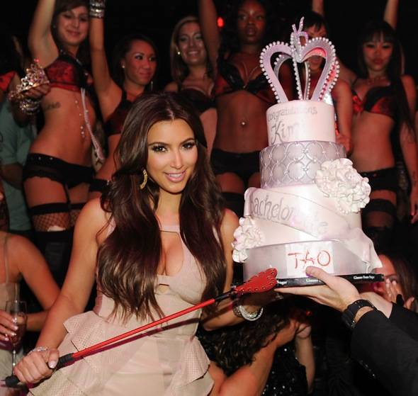 Haute Events: Kim Kardashian Holds Her Bachelorette Party at Tao While Kris Humphries Celebrates His at Lavo
