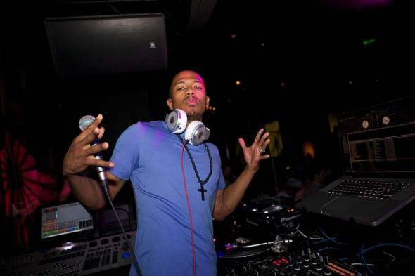 Haute Event: Nick Cannon Debuts His DJ Residency at Gallery Nightclub