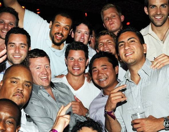 Haute Event: Nick Lachey Celebrates His Bachelor Party at Tao