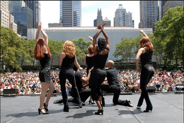 The Most Popular Shows On and Off Broadway Perform in Bryant Park