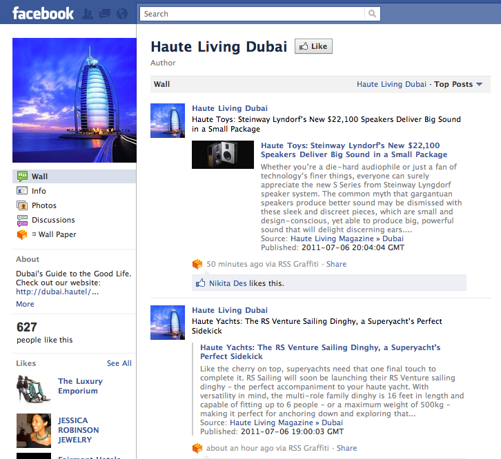 Like Haute Living Dubai?