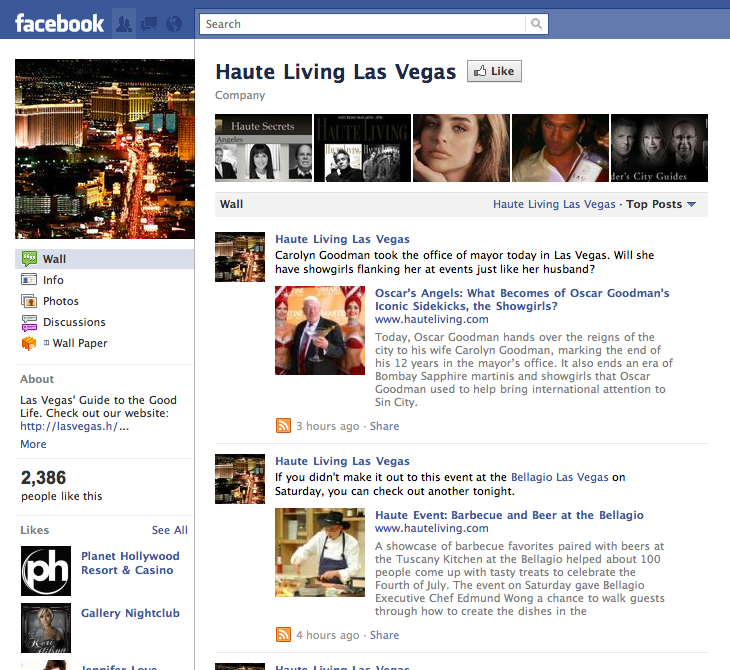Like Haute Living Las Vegas?