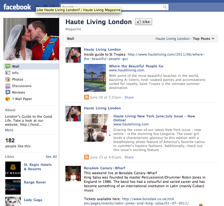 Like Haute Living London?