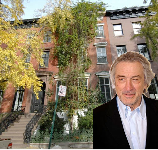 Robert De Niro Lists His New York City Townhouse for $14 million