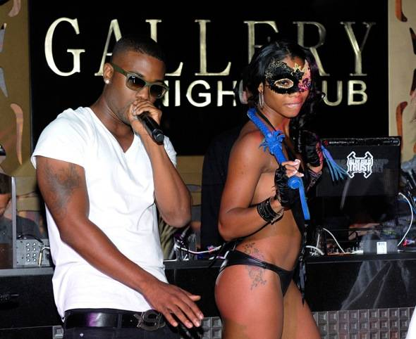 Haute Event: Ray J Performs with 40 Glocc at Gallery Nightclub