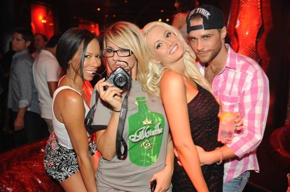 Haute Event: Holly Madison, Josh Strickland and Angel Porrino Celebrate at Tryst Nightclub