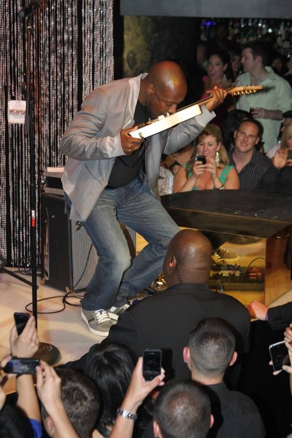 Haute Event: Wyclef Jean Performs at Haze Nightclub