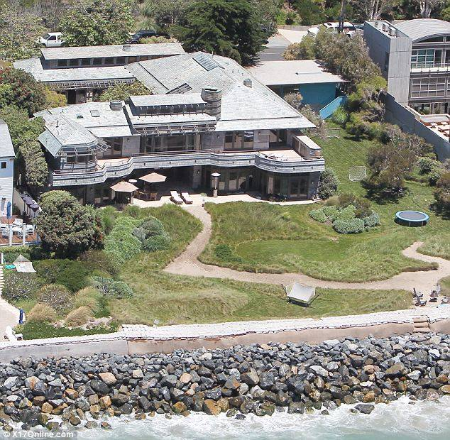 The Beckhams Rent Spielberg's Malibu Mansion