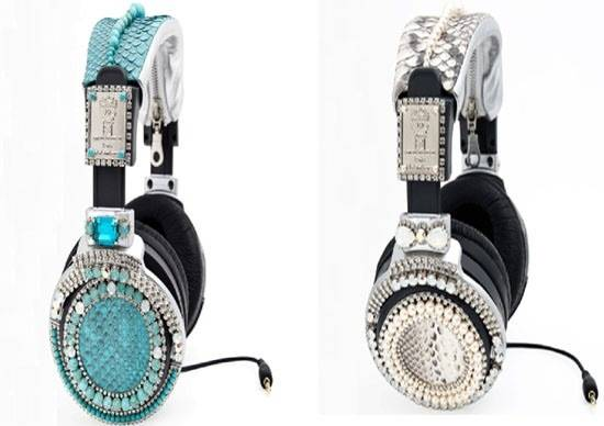 On Aura Tout Vu's Swarovski-Studded Headphones to Hit Stores This August