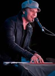 Singer-songwriter Gavin DeGraw performs an exclusive poolside performance at the Hard Rock Hotel.