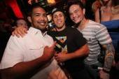 Mark Munoz, Urijah Faber and Scott Jorgensen at the Playboy Club.