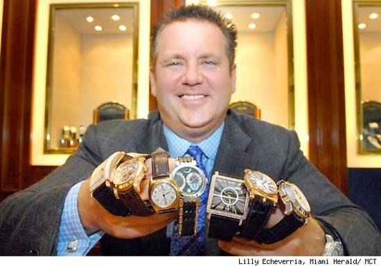 Rothstein's Seized Watch and Jewelry Collection Brings Bidders and Millions of Dollars to South Florida