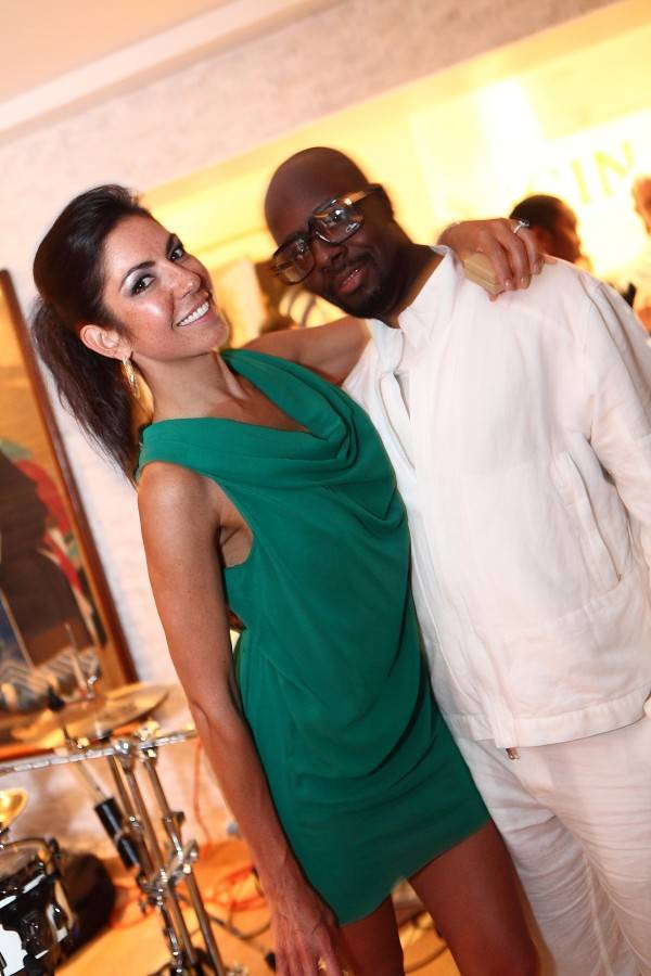 Shari Liu and Wyclef Jean Help Bring In Donations for the Haiti Relief Effort