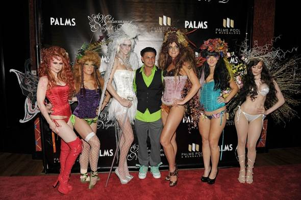Haute Event: Pauly D Spins at a Midsummer Night's Dream at the Palms Pool and Bungalows