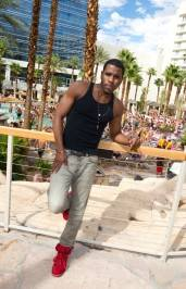 Jason Derulo at Hard Rock Beach Club.