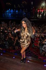 Nicole 'Snooki' Polizzi hosts at LAX Nightclub.