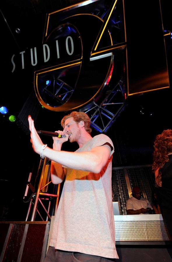 Haute Event: Rapper Asher Roth Performs at Studio 54