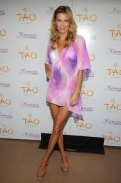 Brandit Glanville on the red carpet at Tao Beach.