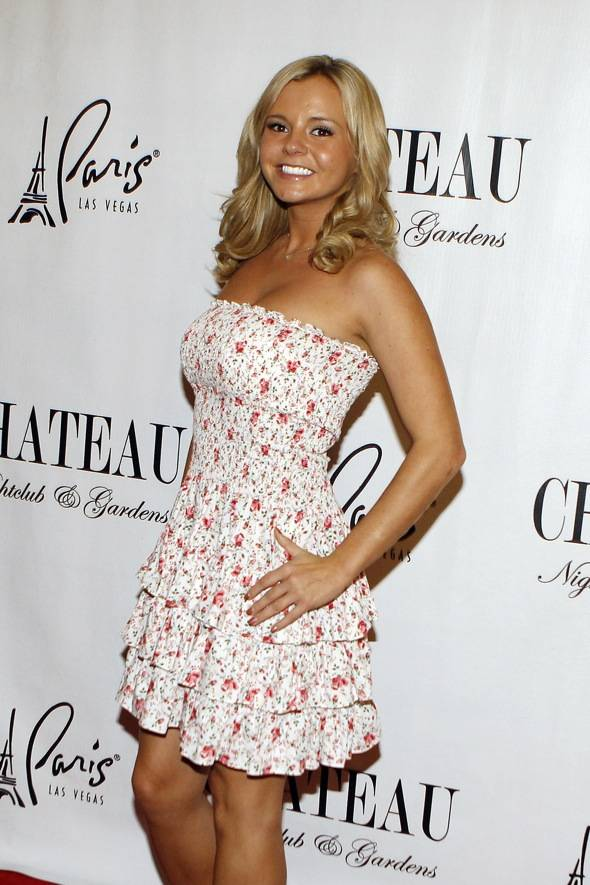 Haute Event: Former Charlie Sheen 'Goddess' Bree Olson Dines at Sugar Factory, Hosts at Chateau