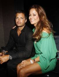 David Charvet and Brooke Burke party Chateau Nightclub & Gardens for the Dylan George and Abbot + Main Spring 2012 launch.