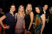 Lauren Clarke + Ashley Guy + Andrea Simms + Erin Cerminara at W's Symmetry Live concert, celebrating W South Beach Hotel & Residences' Two Year Anniversary