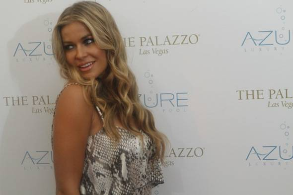 Haute Event: Carmen Electra Spends Her Afternoon at Azure Luxury Pool