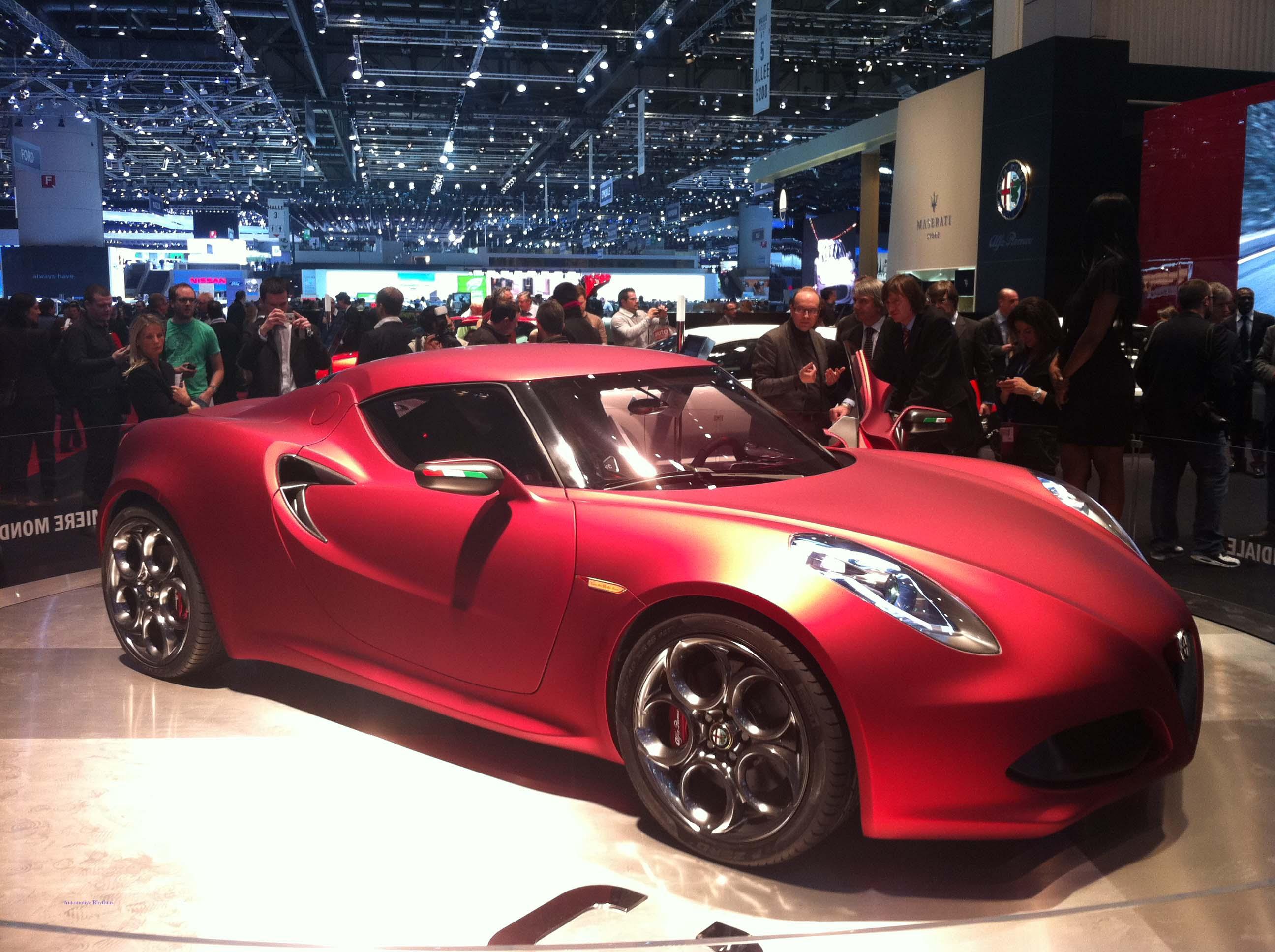 Geneva Motor Show - Alfa Romeo 4C Concept