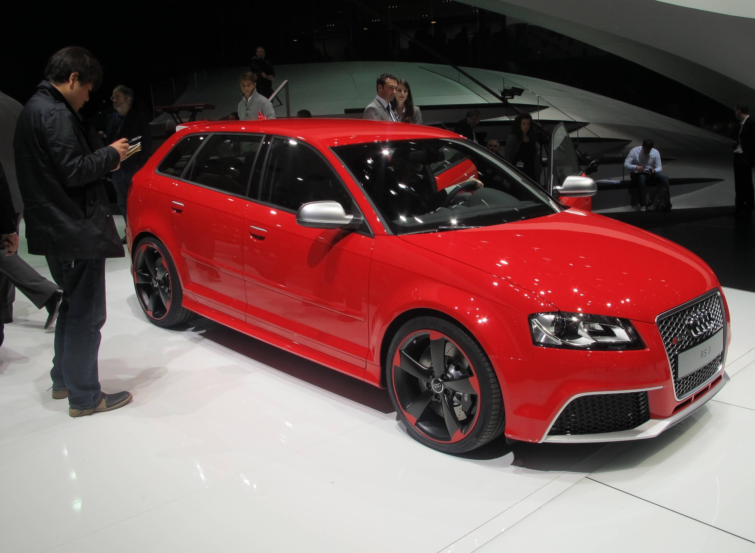 Geneva Motor Show - Audi RS 3
