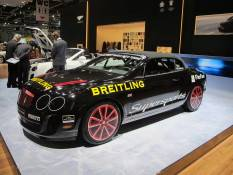 Bentley's Ice Record Breaking GTC