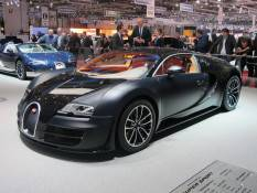 Bugatti's Speed Breaking Super Sport
