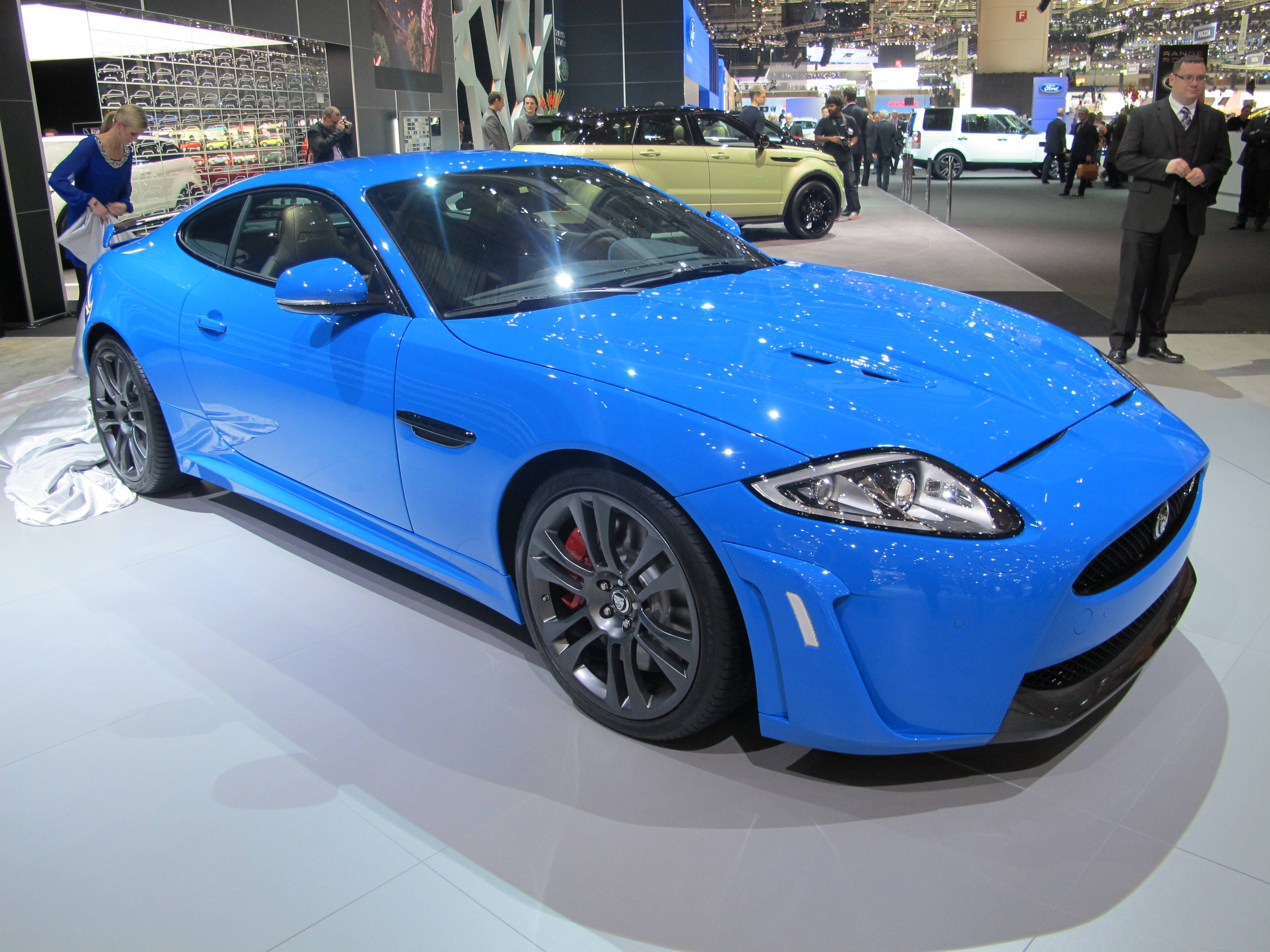 Geneva Motor Show - Jaguar XKR-S