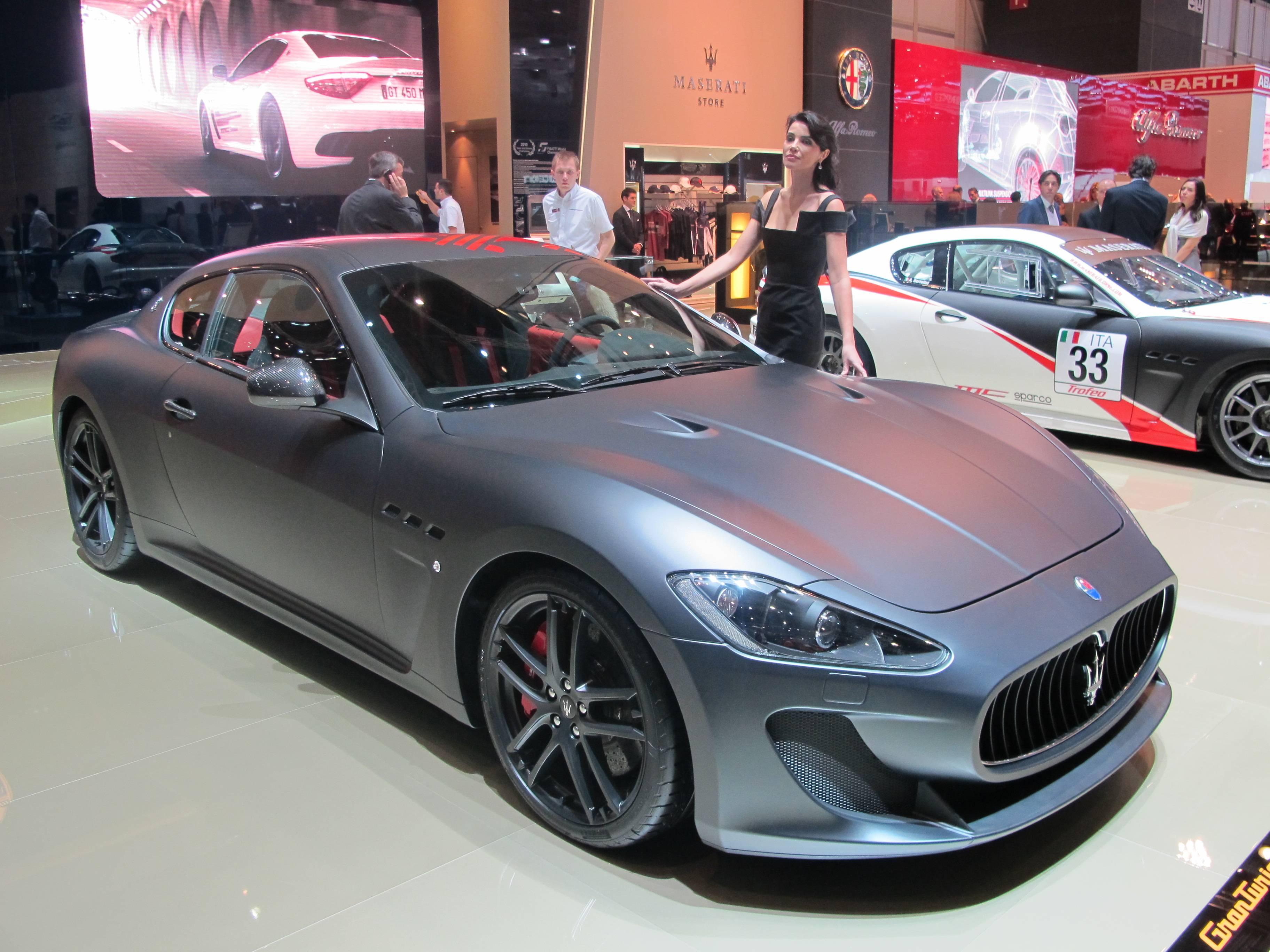 Geneva Motor Show - Maserati GranTurismo MC Stradale