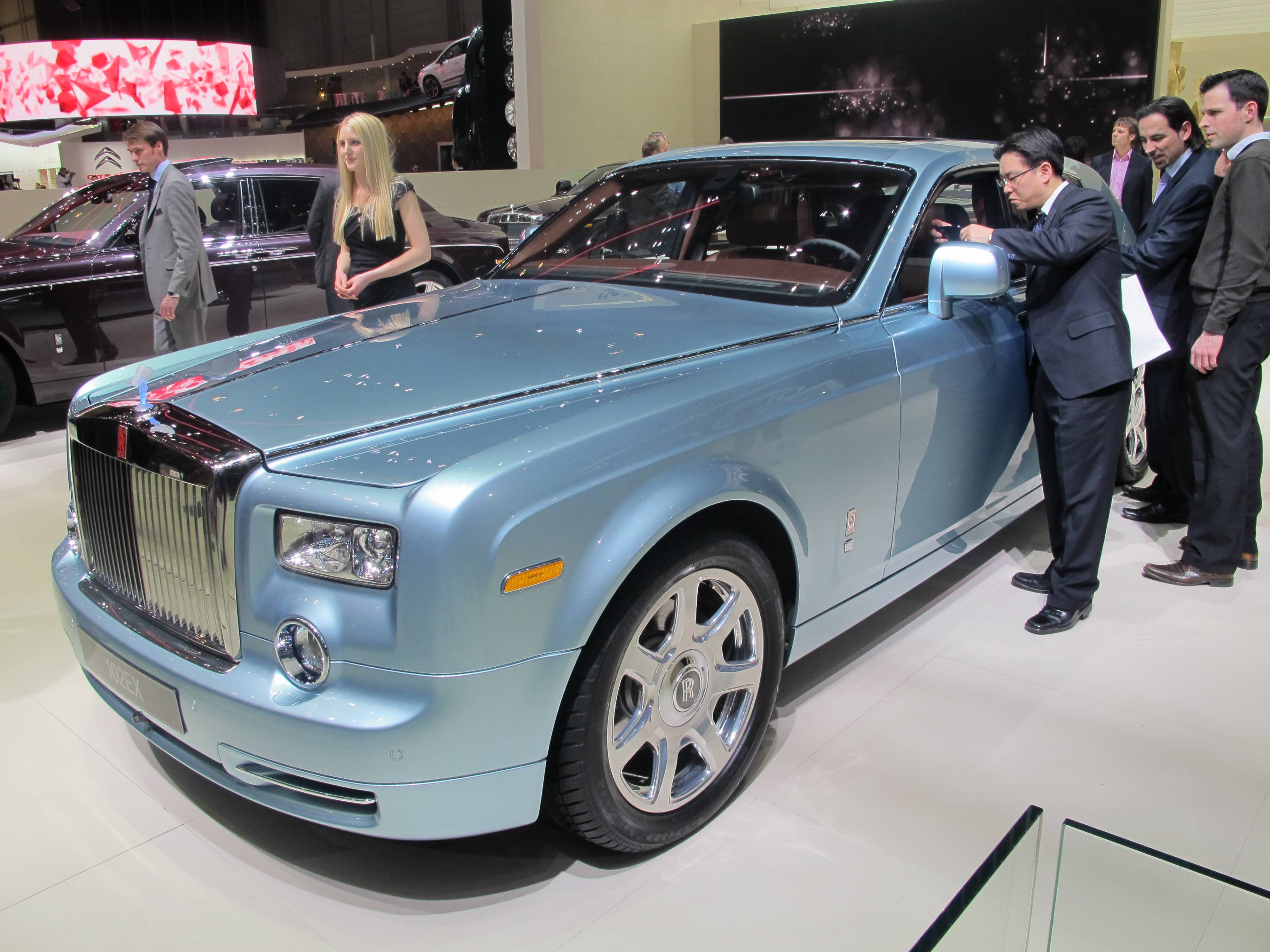 Geneva Motor Show- Rolls-Royce 102EX (Electric Vehicle)