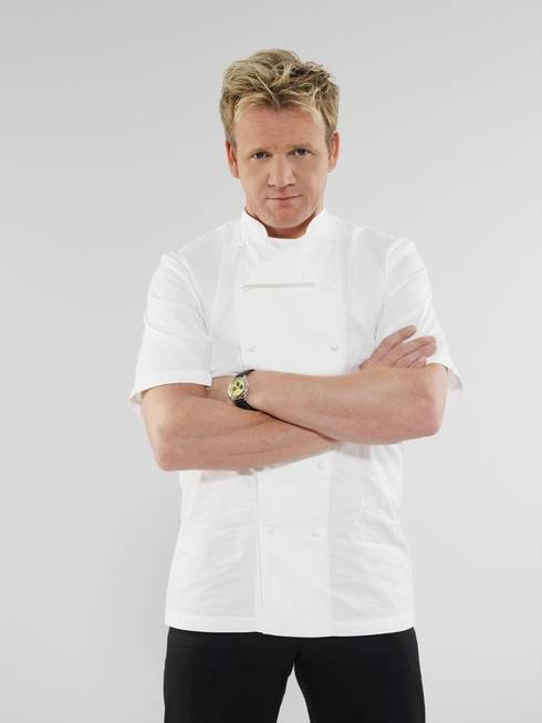 Chef Gordon Ramsay Strike Las Vegas Gold