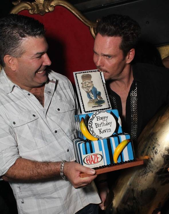 Haute Event: Kevin Dillon Brings an Entourage to Vegas to Celebrate His Birthday at Haze Nightclub