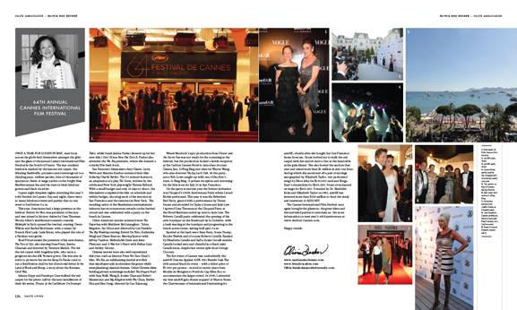 In This Issue of Haute Living San Francisco: Olivia Hsu Decker Reports on the 64TH Festival de Cannes