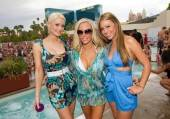 Holly Madison, Kendra Wilkinson-Baskett and Jessica Hall
