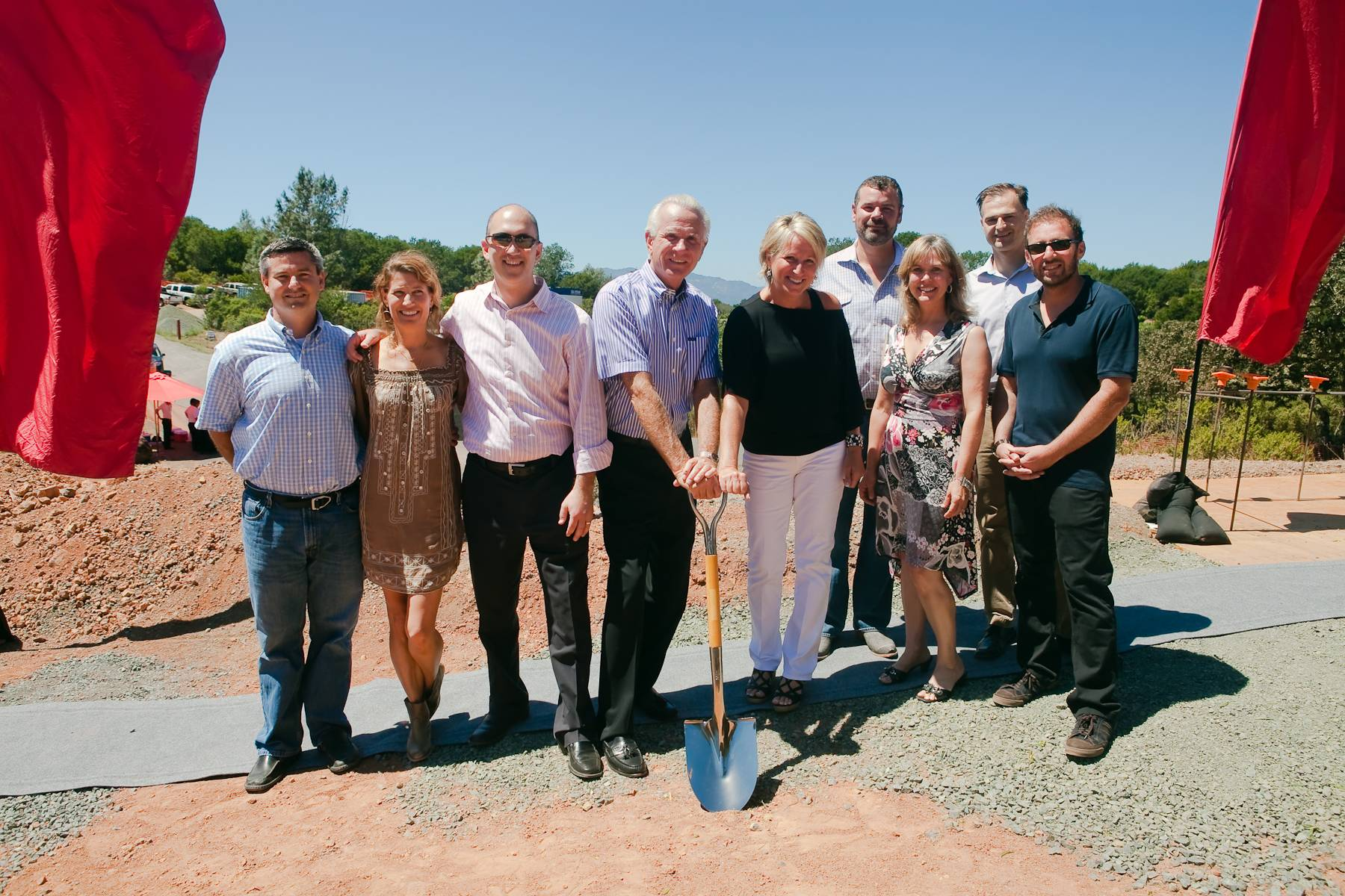 Haute Event:  BRAND Napa Valley Winery holds Groundbreaking