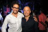 Michaelangelo L'Acqua + George Cozonis at W's Symmetry Live concert, celebrating W South Beach Hotel & Residences' Two Year Anniversary