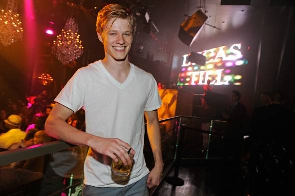 Haute Event: Lucas Till Celebrates His 21st Birthday at Chateau Nightclub & Gardens