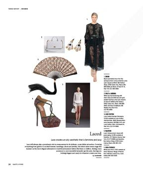 Lovely Louis Vuitton Chinoiserie Featured in This issue of Haute Living New York