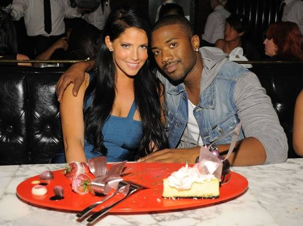 Haute Event: Ray J Celebrates His Sweetie's Birthday at Sugar Factory American Brasserie