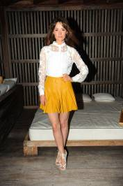 Rose Byrne at W's Symmetry Live concert, celebrating W South Beach Hotel & Residences' Two Year Anniversary