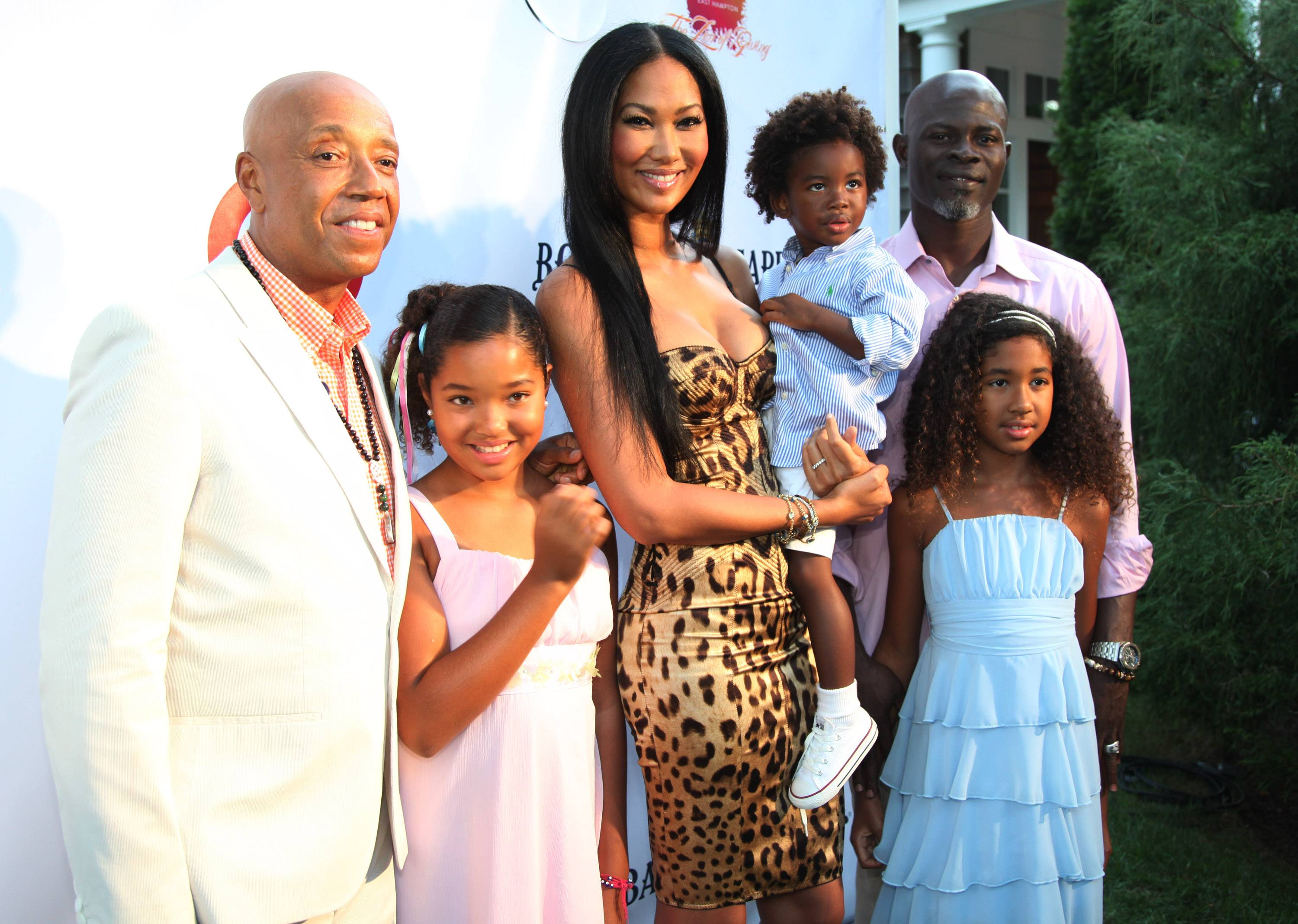 Russell Simmons Hosts Art For Life Benefit at His East Hampton Estate