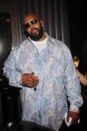 Suge Knight parties at Chateau Nightclub & Gardens.
