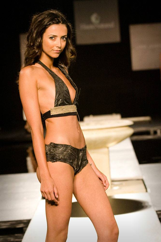 Worlds First Compostable Swimsuit - Luxury Eco by Linda Loudermilk