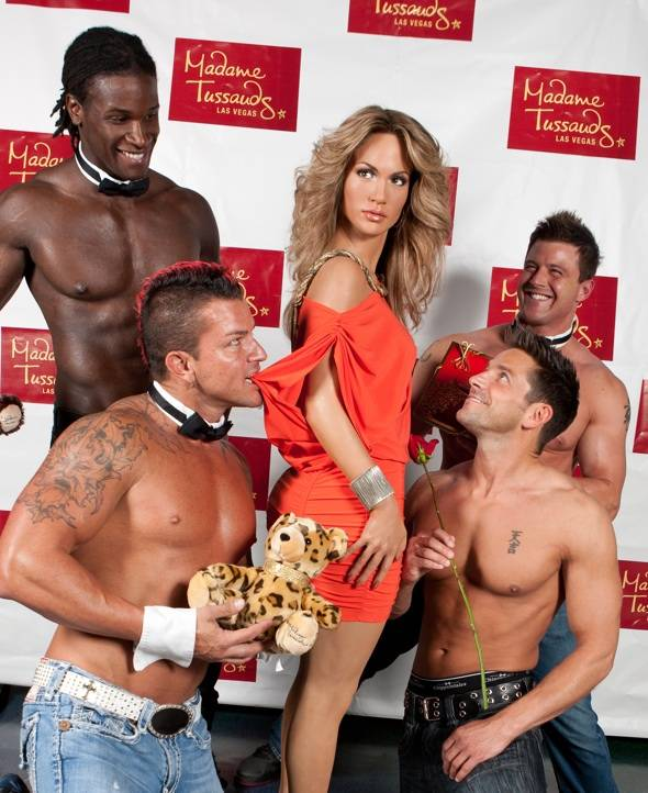 Haute Event: Chippendales Take on the Newly Single J.Lo at Madame Tussauds Las Vegas