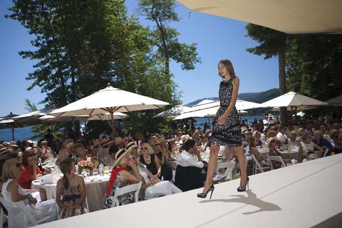 Oscar de la Renta Resort Collection Fashion Show and Luncheon in Lake Tahoe