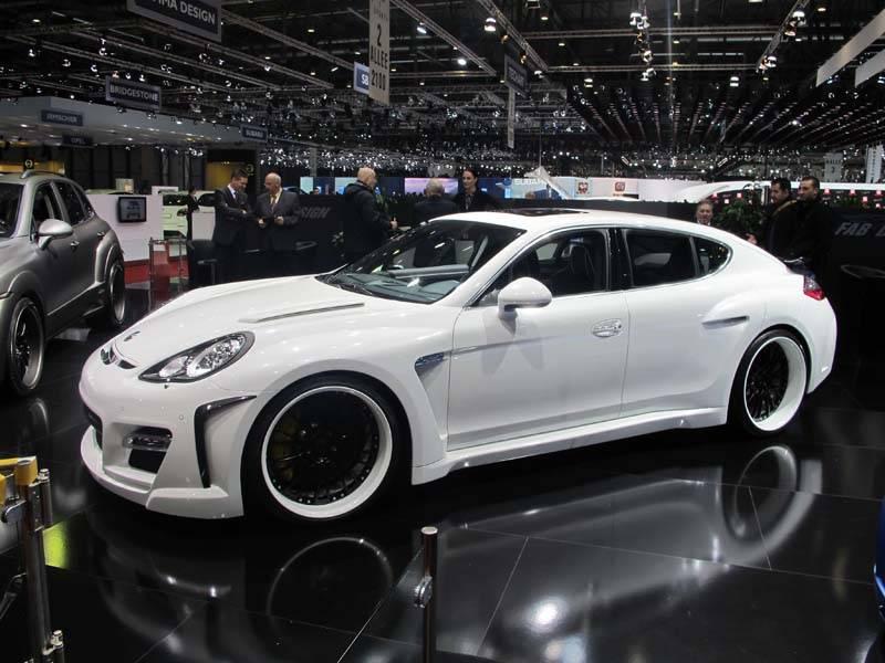resizeGeneva Auto Show - Custom Porsche Panamera by FAB DESIGN